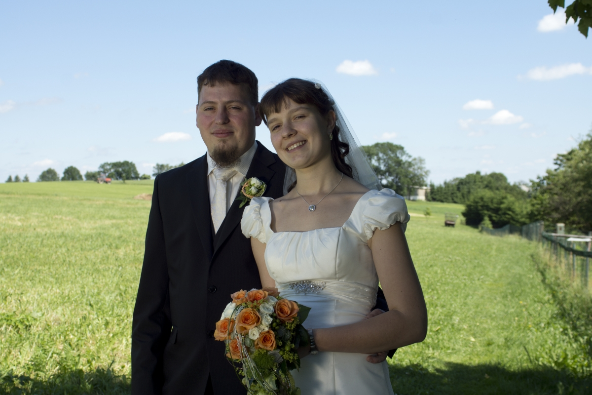 Hochzeit, Erzgebirge