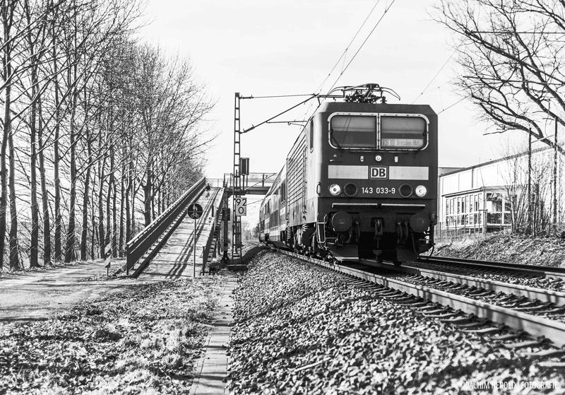 railroad track at Gruena, Scene, Line