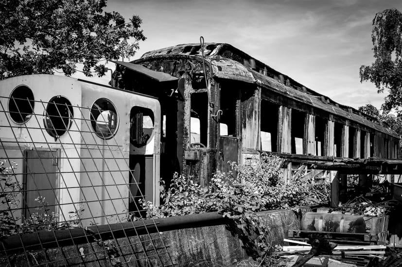 Eisenbahnmuseum, fotografieren üben, Goldener Schnitt