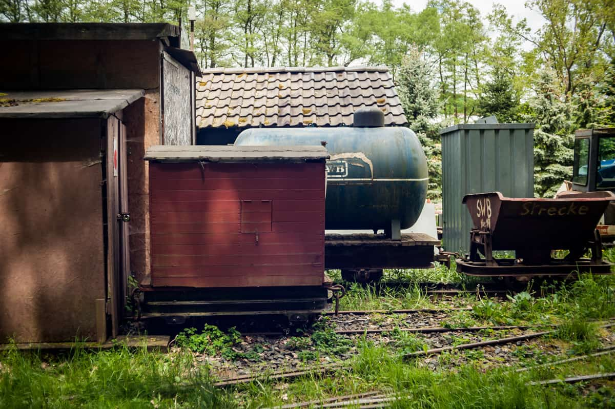 Endbahnhof der Stumpfwaldbahn