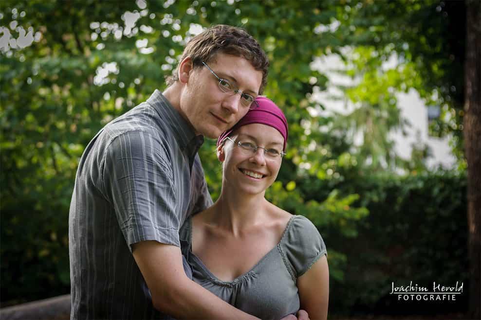 Junges Paar Portrait, Fotografieblog