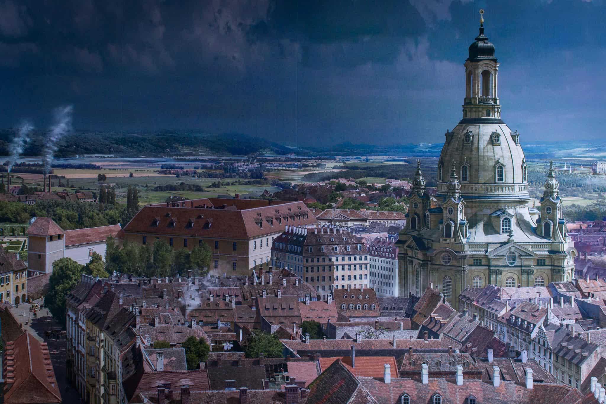 Yadegar Asisi, Dresden im Barock