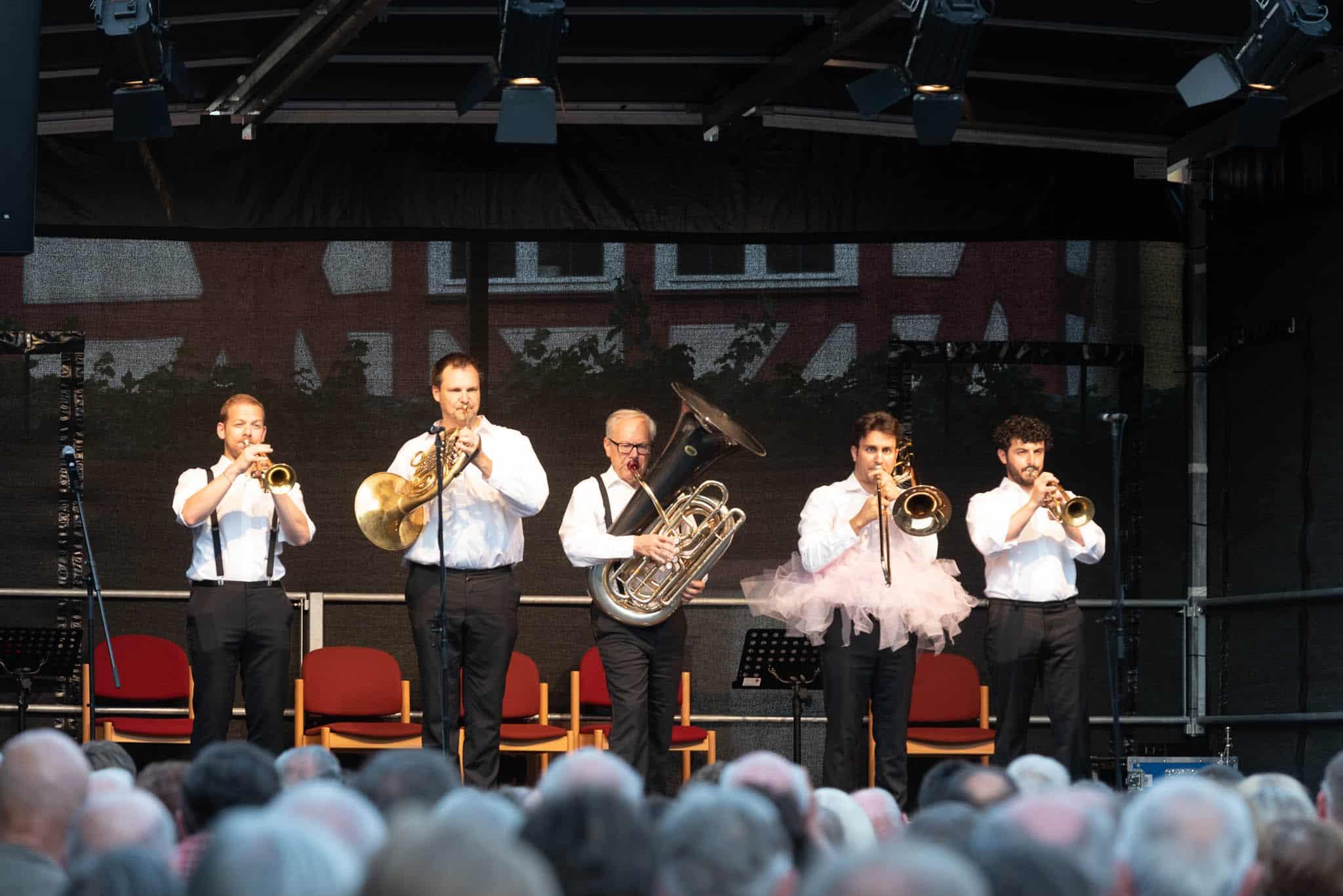 Konzertfotografie, Brass Quintett