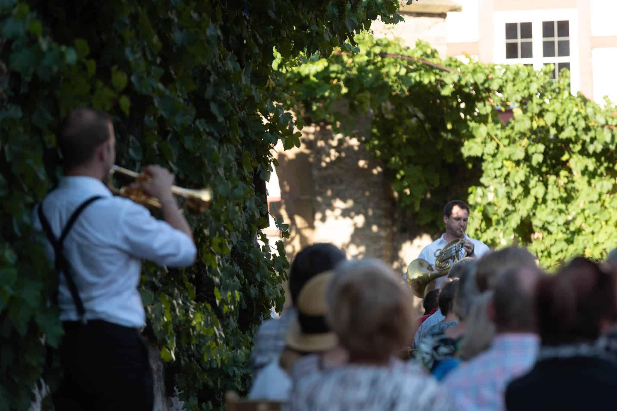 Caleb Hudson (Trompete), Jeff Nelsen (Horn), Canadian Brass
