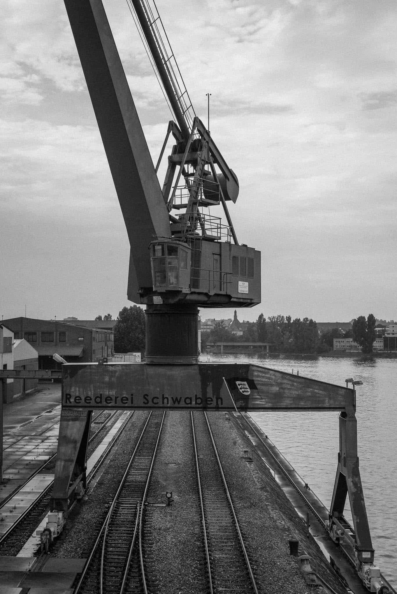 Neckarhafen, alter Portalkran
