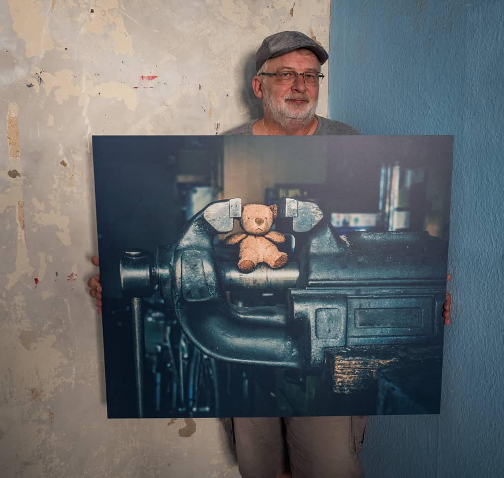 Fotokunstwerk, Künstler und Werk