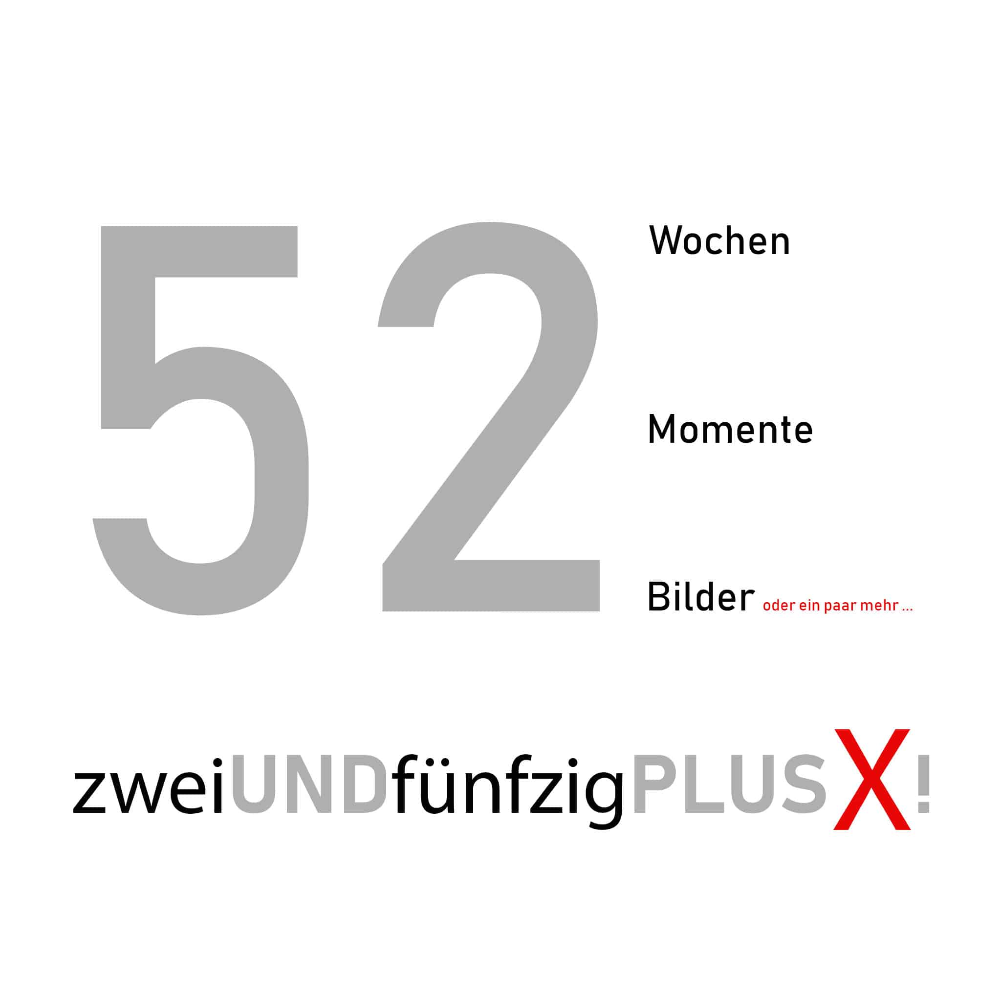 Fotoprojekt, 52+X, Logo