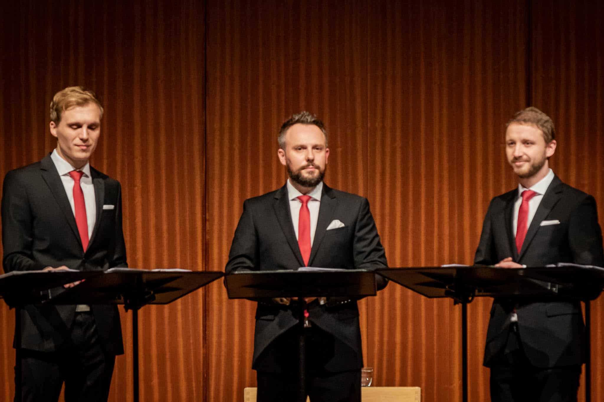 Calmus Vokalensemble Leipzig, Einstimmung aufs Fest, Stadthalle Göppingen, 2018