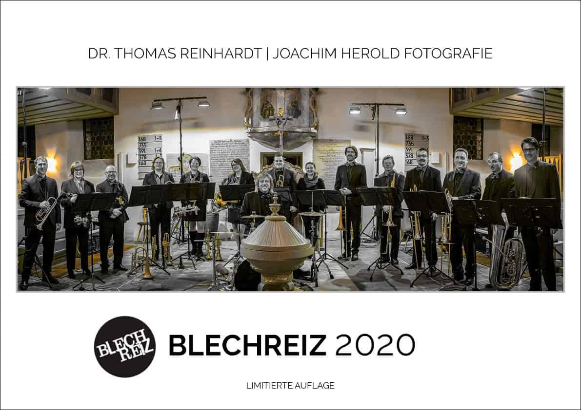 BLECHREIZ Kalender 2020, Dechblatt Querformat A3